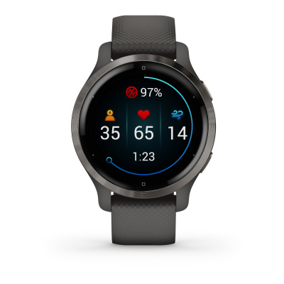 Garmin Venu 2S smartwatch zwart 010-02429-10
