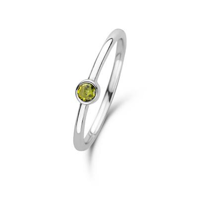 Violet Hamden Venus August 925 Sterling Zilveren Ring Met Geboortesteen VH330007AUG