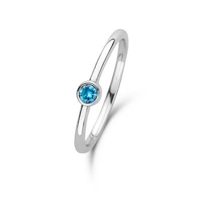 Violet Hamden Venus December 925 Sterling Zilveren Ring Met Geboortesteen VH330007DEC