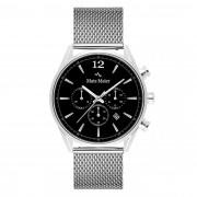 Mats Meier Grand Cornier Chrono Zwart/Zilverkleurig horloge MM00116