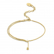 Violet Hamden Sisterhood Lunisolar 925 Sterling Zilveren Goudkleurige Armband VH12028