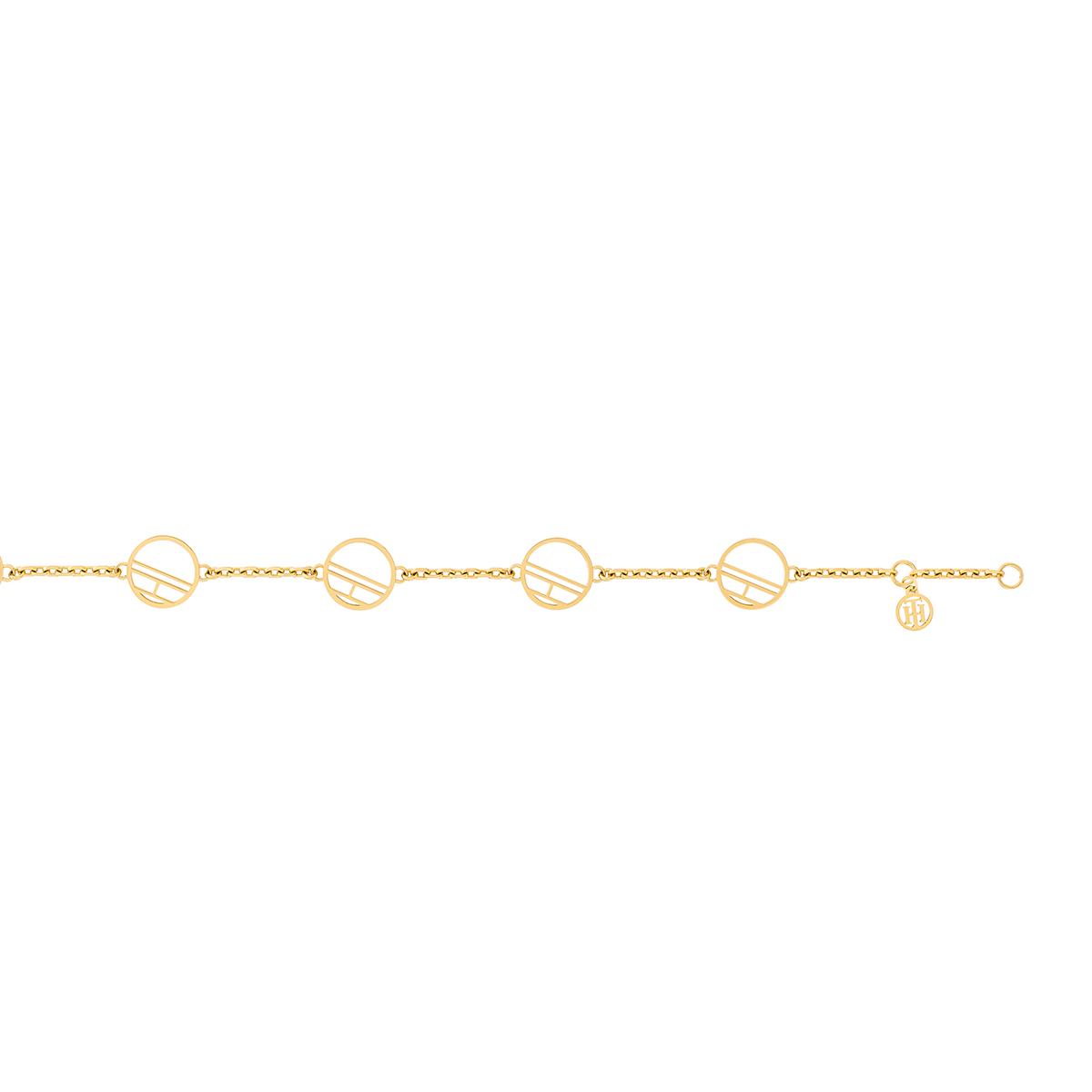 Denim bracelet TJ2780326 (Taille: 18 cm) - Tommy hilfiger - Modalova
