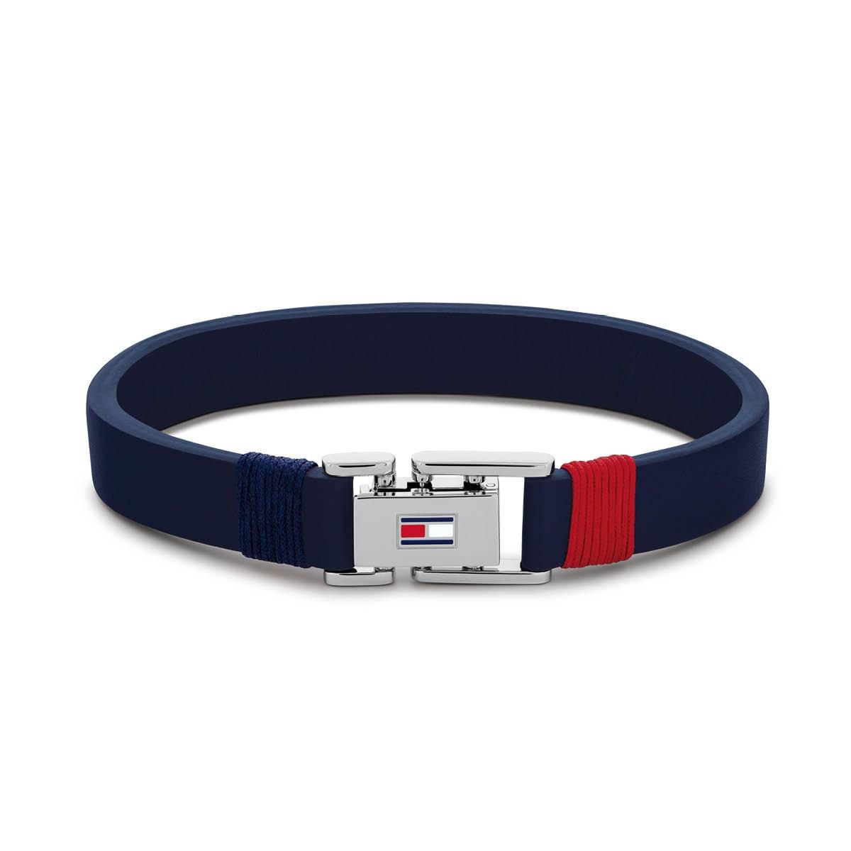 Denim bracelet TJ2790226S (Taille: 19.50 cm) - Tommy hilfiger - Modalova