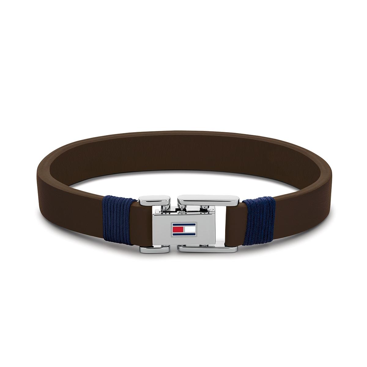 Denim bracelet TJ2790227S (Taille: 19.50 cm) - Tommy hilfiger - Modalova